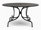 Boscombe 6 Seater Table, Black & Granite