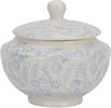 Olney Sugar Bowl, Flax Blue