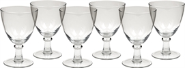 Barnes Red Wine Glasses, set of 6