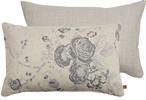 Delilah Cushion 35x55cm, Emma Dove & Imogen Holkham Sand
