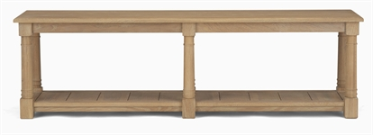 Edinburgh 1600 Bootroom Bench, Vintage Oak