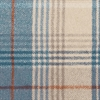 Lorne Wool Plaid, Teal /metre