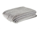 Cotswold Mohair Throw, Pewter