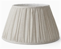 Henry Gathered Lampshade, Ida Oatmeal