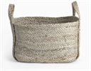 Arbroath Rectangular Jute Basket, Small