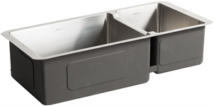 Neptune Stainless Steel 1.5 Bowl Sink With Wastes