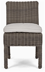 Toulston Dining Chair with Natural Cushion - Reed