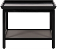 Aldwych Low Side Table, Warm Black