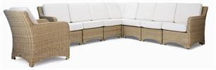 Murano Modular 8 Seater Corner Sofa
