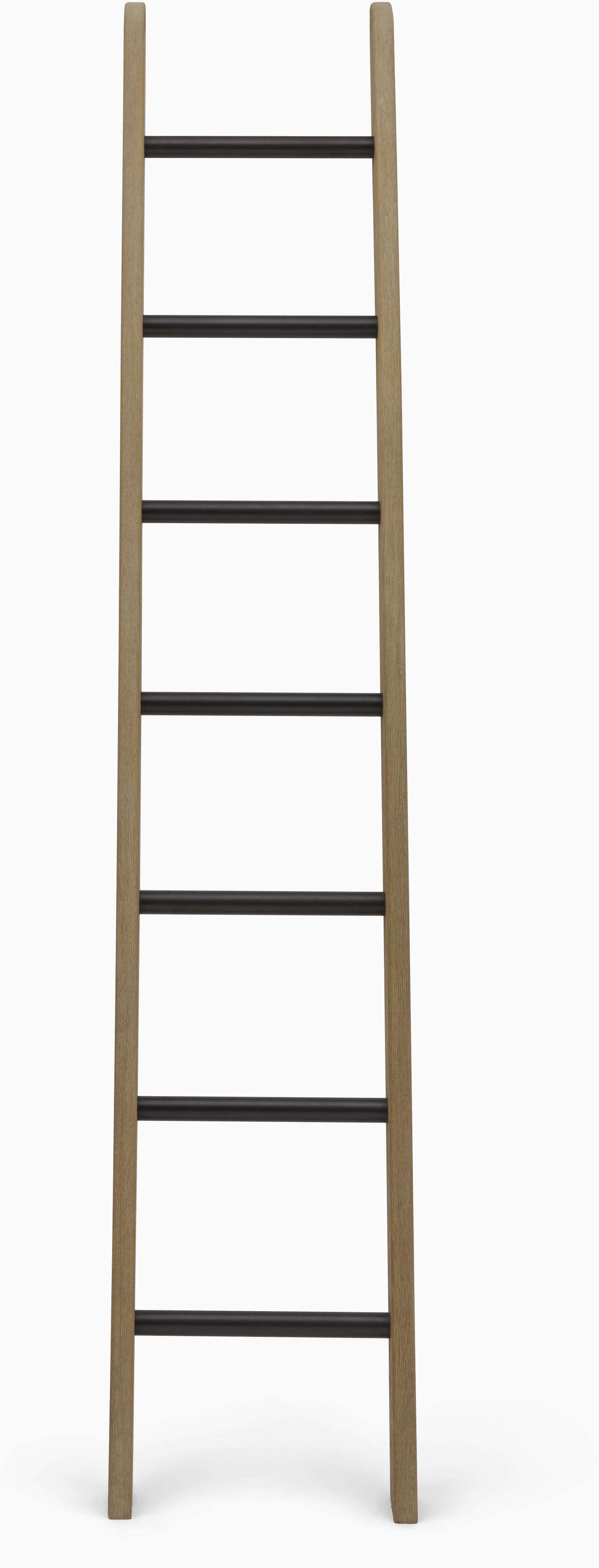Chawton Ladder, Dark Vintage Oak and Bronze