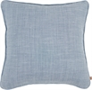 Florence Cushion 45x45cm, Harry Flax Blue
