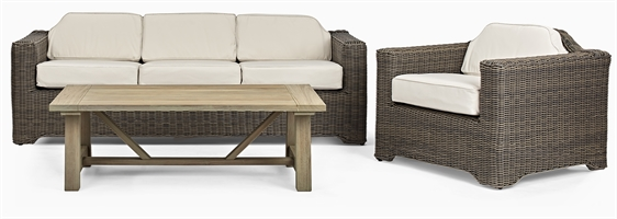 Tresco Sofa Set & Stanway Coffee Table
