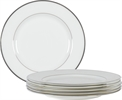Fenton Side Plates, set of 6, Platinum
