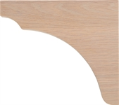 Suffolk Bracket - Seasoned Oak