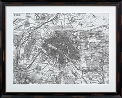 City Plan Paris