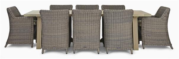 Stanway Teak 8 Seater & Stanway Carver Set
