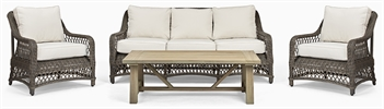 Harrington Sofa Set & Stanway Coffee Table