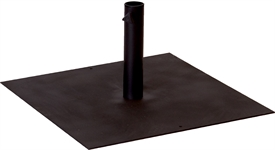 Large Parasol Base Plate & Tube