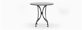 Boscombe 2 Seater Table, Black & Granite