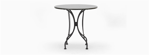 Boscombe 2 Seater Table, Black & Granite