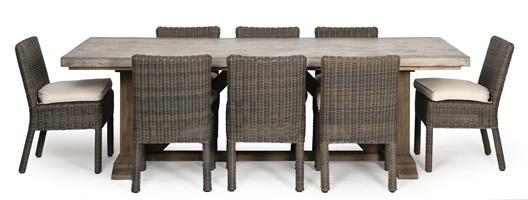 Hove 6 Seater Rectangular Set