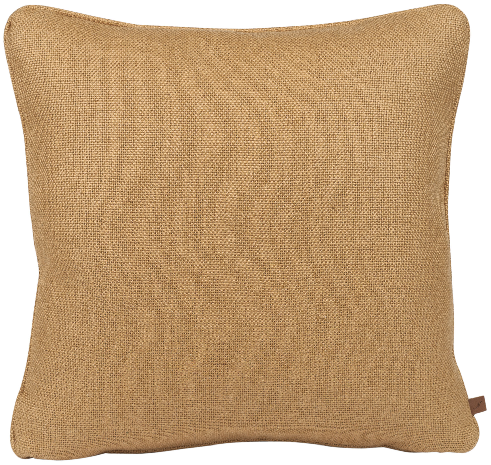 Florence Cushion 45x45cm, Hugo Mustard