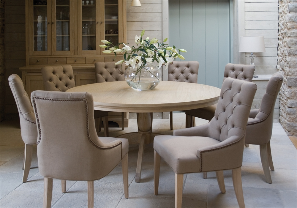 Neptune henley round dining table dining room furniture - Round kitchen table and chairs uk ...