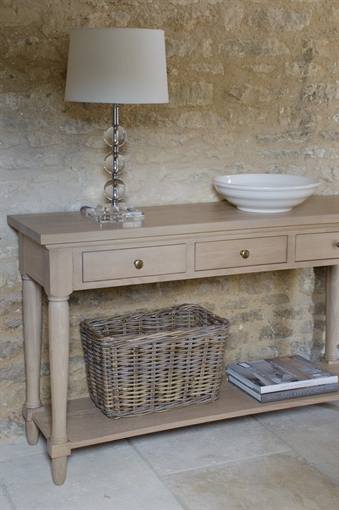Neptune henley console table for Get table th width
