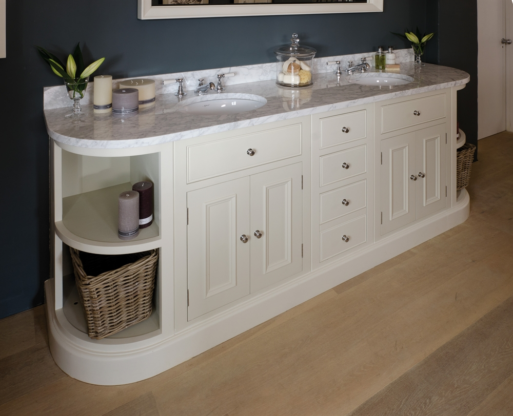 Neptune Chichester Curved Open Base Cabinet
