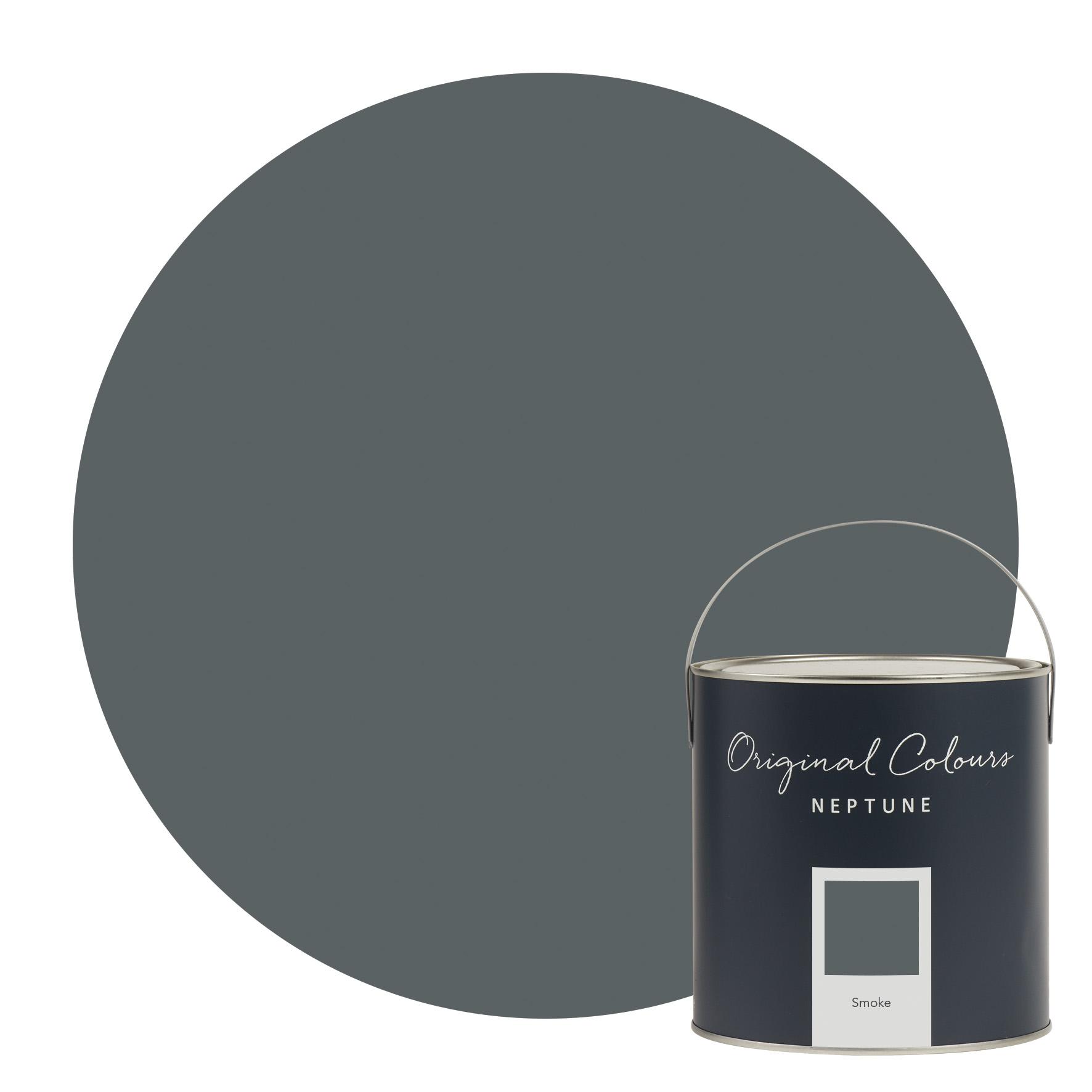 Neptune Smoke Paint Eggshell Amp Matt Emulsion Paints