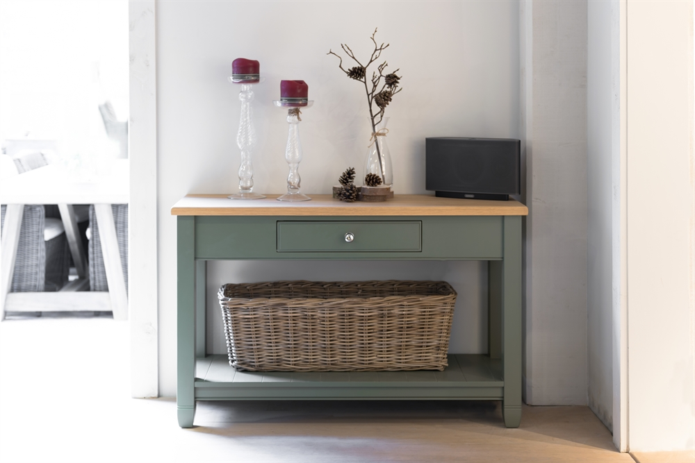 Neptune chichester console table for Get table th width