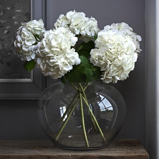Charlton Round Decorative Glass Vase Neptune