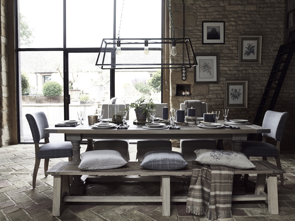 Neptune Balmoral Rectangle Dining Table Dining Room