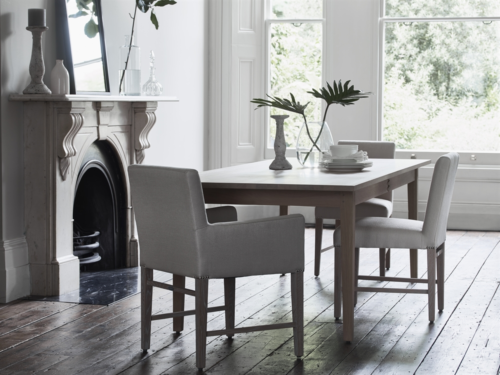 Neptune wardley rectangular dining table dining room for Get table th width