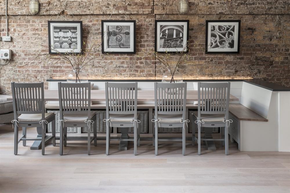 neptune harrogate rectangular dining table dining room