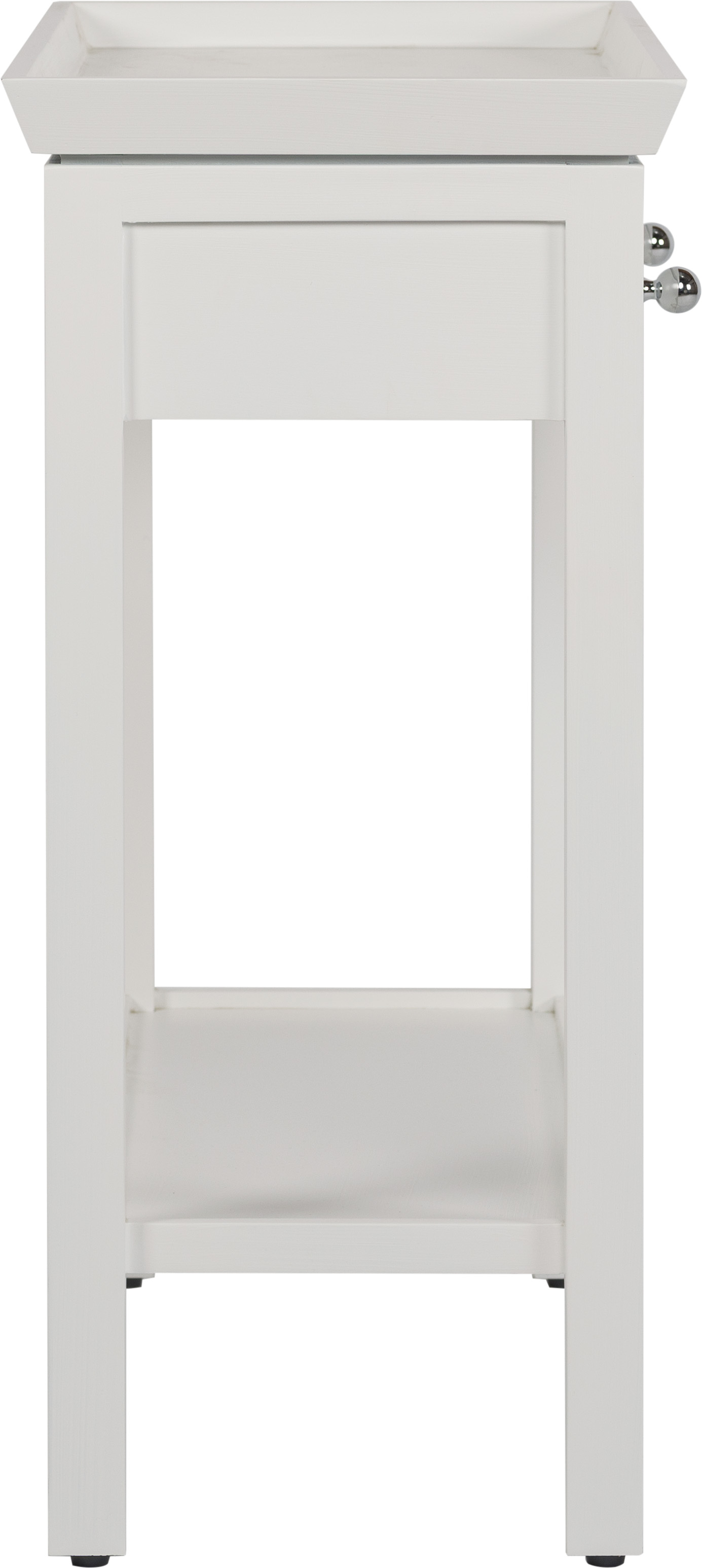 Aldwych Small White Console Table
