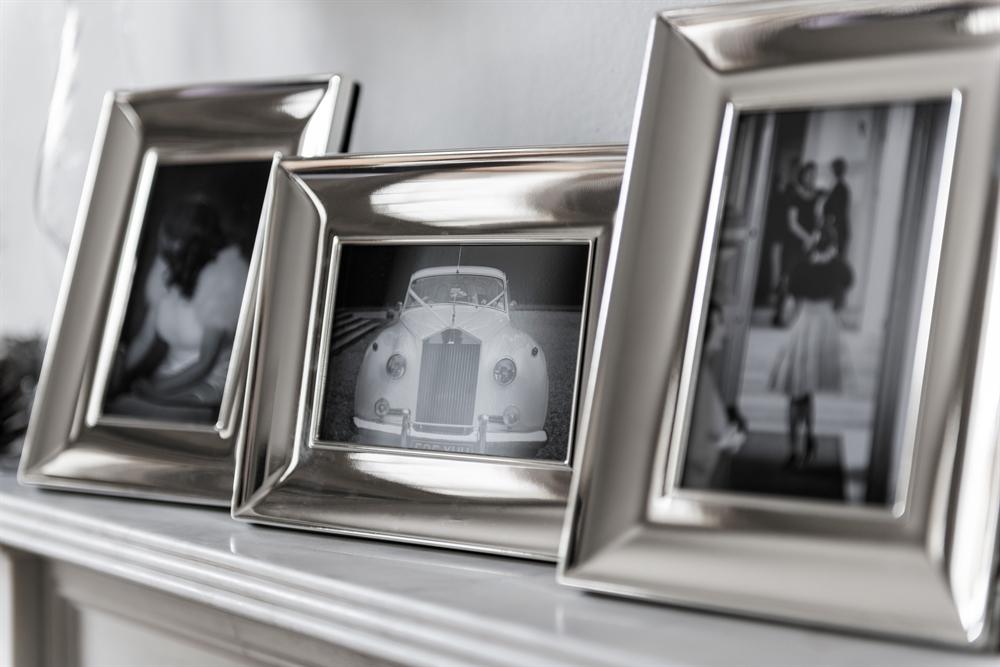 Neptune Porter Silver Plated Photo Frame